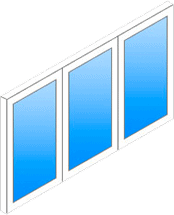Пример прямого окна