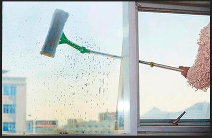 Телескопическая щетка для мытья